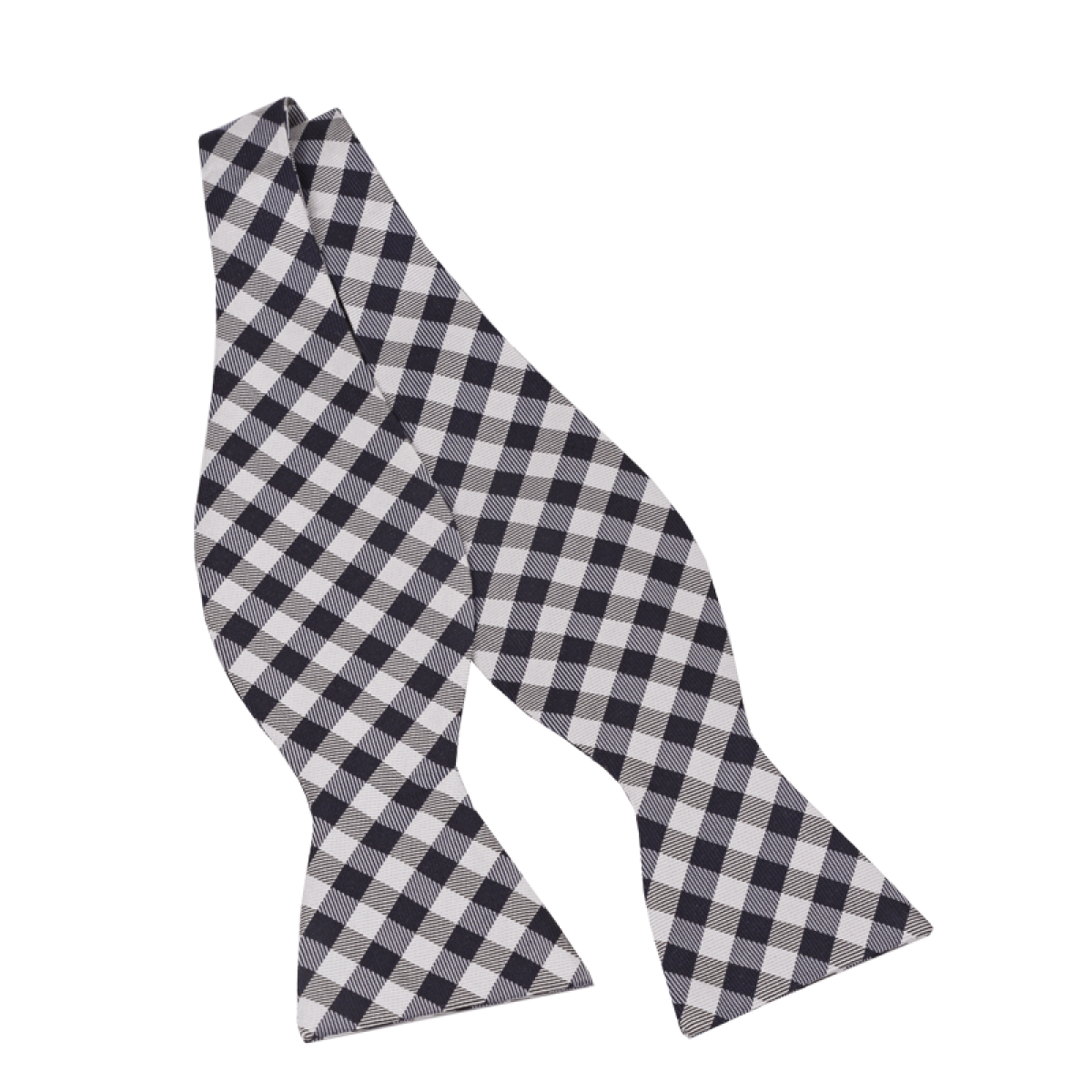 Gingham Check Bow